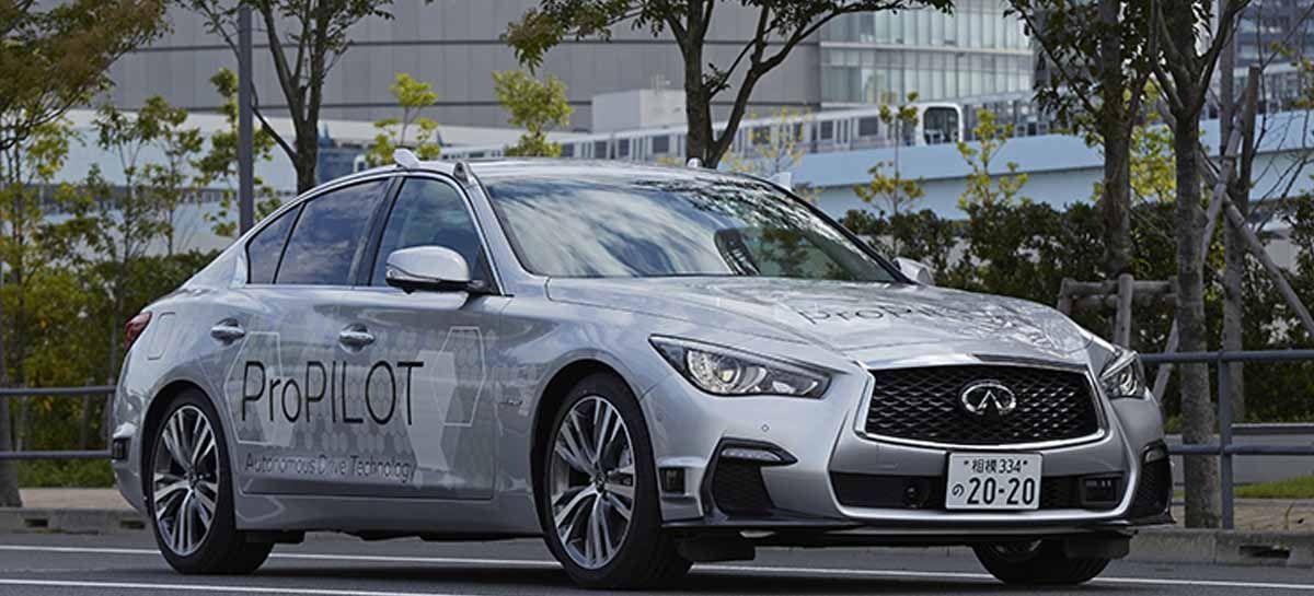 نیسان نمونهی اولیهای از فناوری رانندگی تمام خودران را در خیابانهای توکیو آزمایش کرد